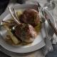 American lamb chops saltimbocca