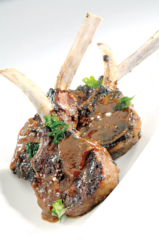 american lamb korean style chops