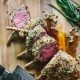 Herb Crusted American Lamb with Crispy Artichokes & Potatoes