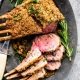 Rack of American Lamb with Herb Crust