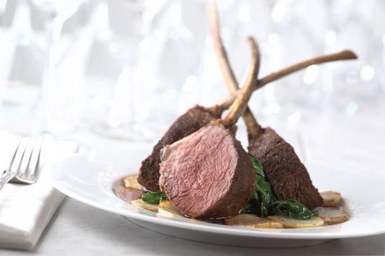 royal spice crusted lamb rib chops