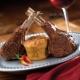 seared western lamb rib chops with goat cheese souffle