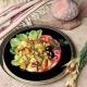 warm moroccan potato lamb salad