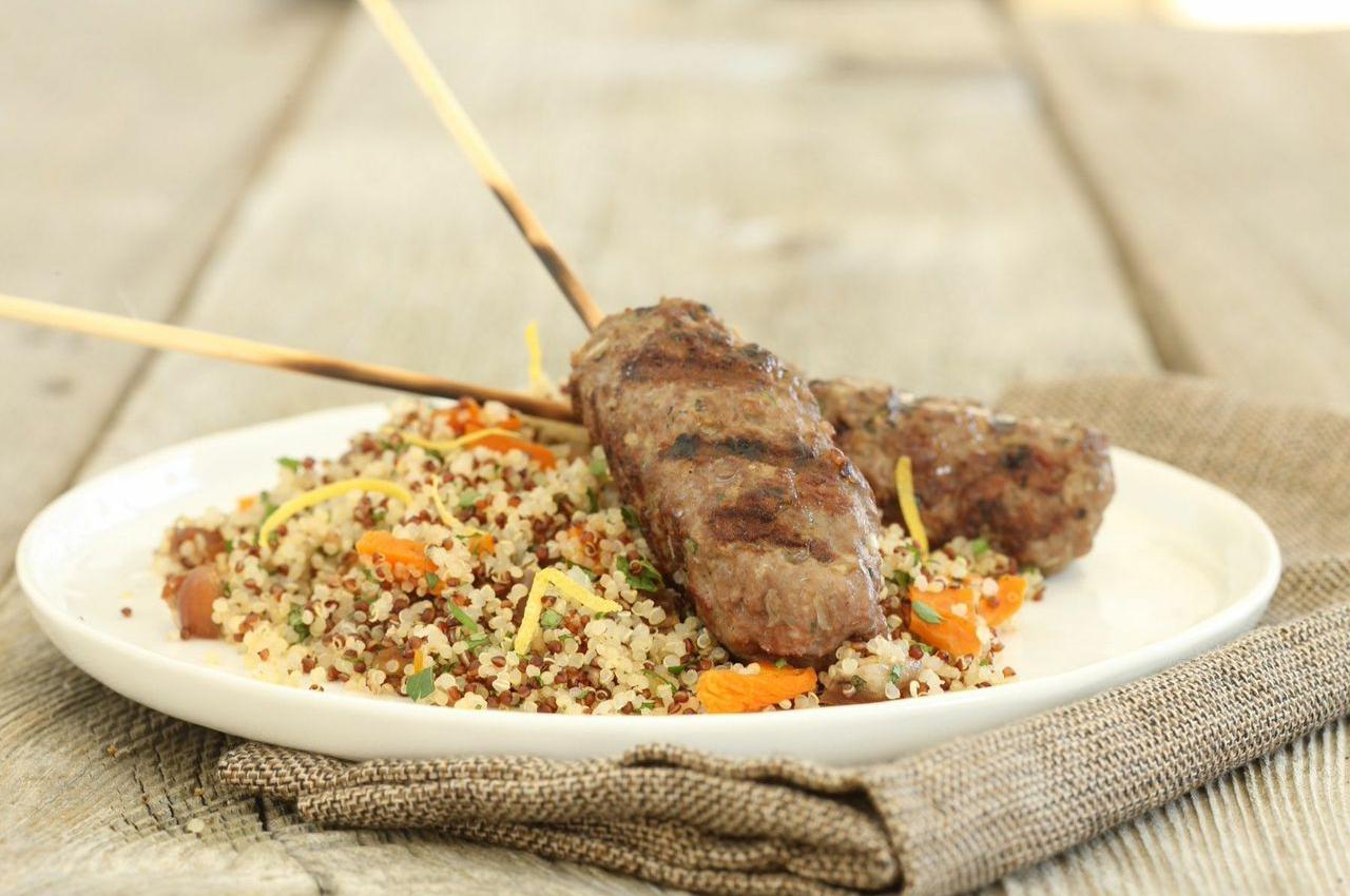 Ground Lamb Kebabs